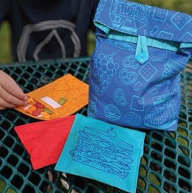 Lunch Bag & Snack Bag Panel