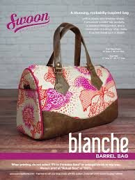 Swoon Blanche Barrel bag
