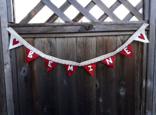 Be Mine Bunting Pattern