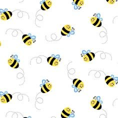 Double Gauze Bumble Bees