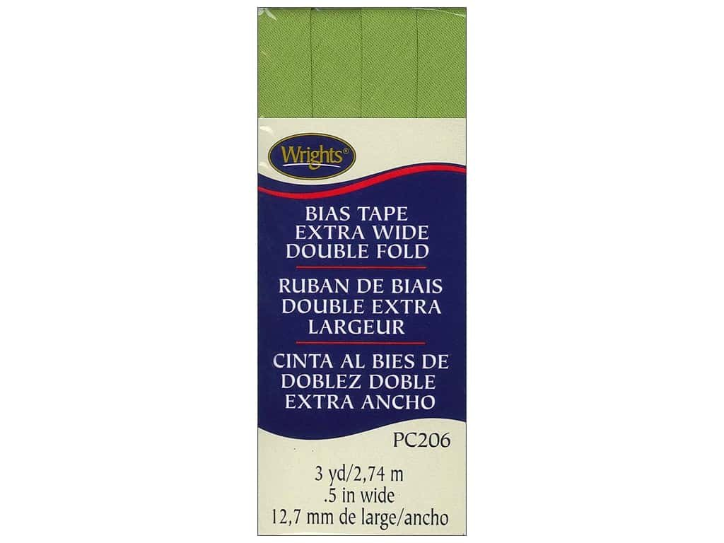 Extra Wide Double Fold Leaf Green 922
