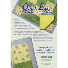 Quick Easy Mitred Binding Tool