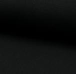 28 Tubular Ribbing - #069 Black (21B)