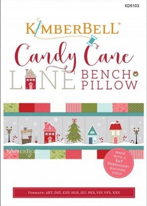 ***PREORDER*** Kimberbell Candy Cane Lane MACHINE EMBROIDERY