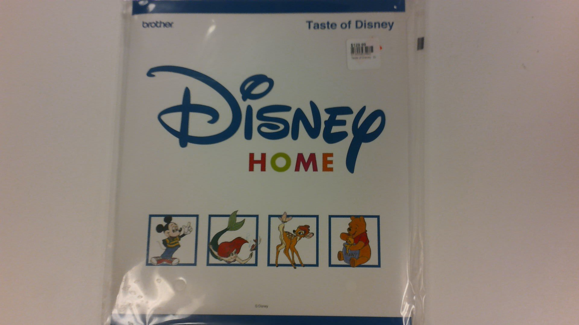 Taste of Disney - Embroidery Card