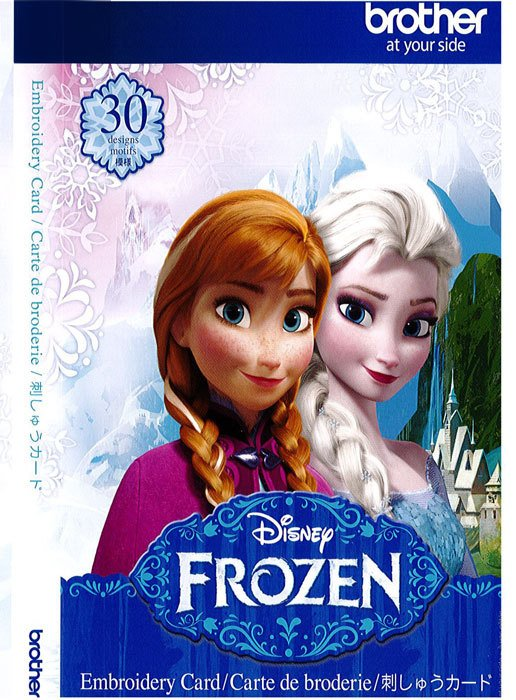 Frozen - Disney Embroidery Card
