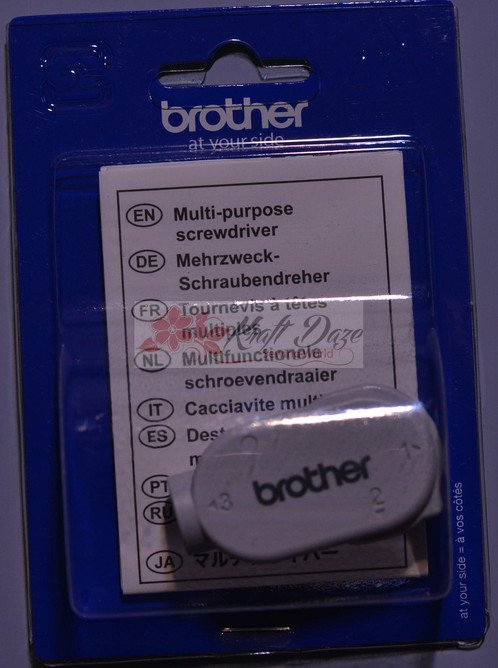 Brother Muilti-purpose Sewing Machine Screwdriver