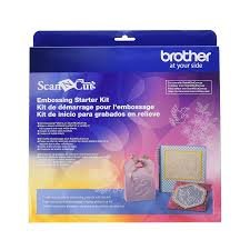 Scan N Cut Embossing Starter Kit