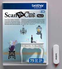 Scan N Cut Home-Deco Pattern Collection No. 3