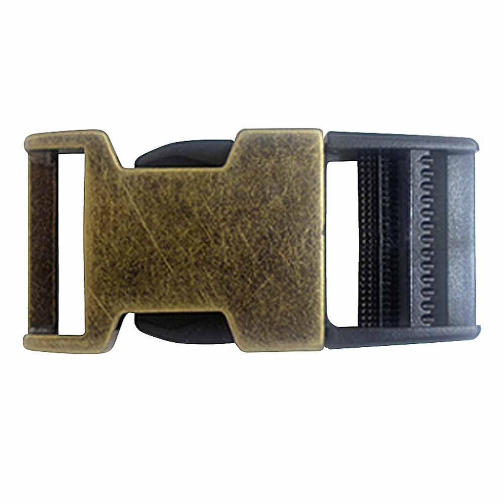 ELAN Parachute Clip - 25mm - Black Antique Brass