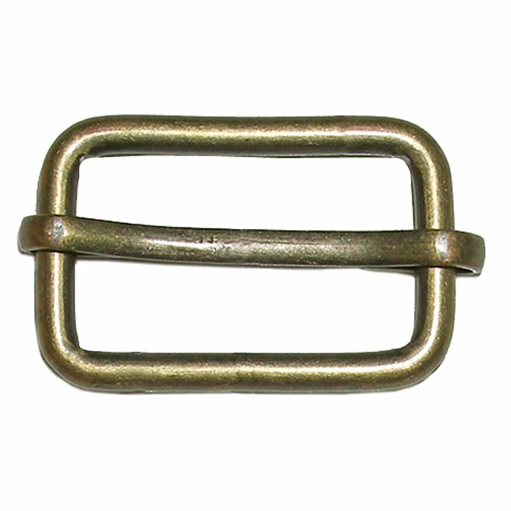 Elan Rectangle Antique Gold Buckle 26 m/1 - 2/package