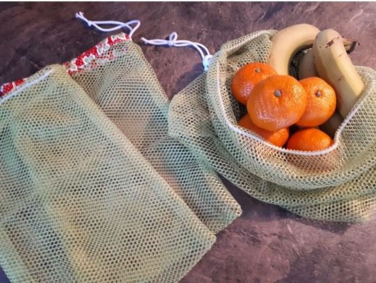 Reusable Veggie Food Bags Pattern