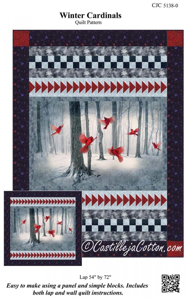 Winter Cardinals Pattern