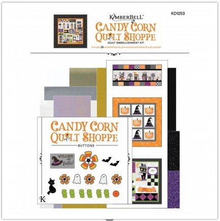 Kimberbell Candy Corn Quilt Shoppe Emellishment Kit