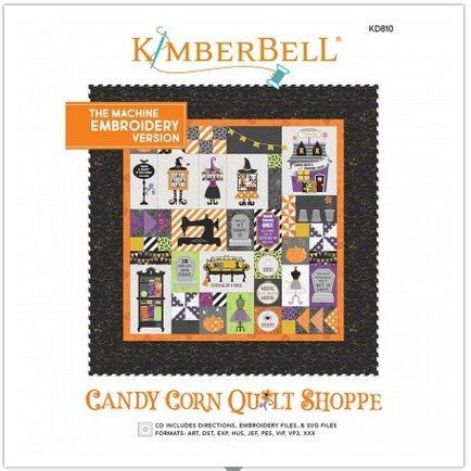 Kimberbell Candy Corn Quilt Shoppe EMBROIDERY MACHINE