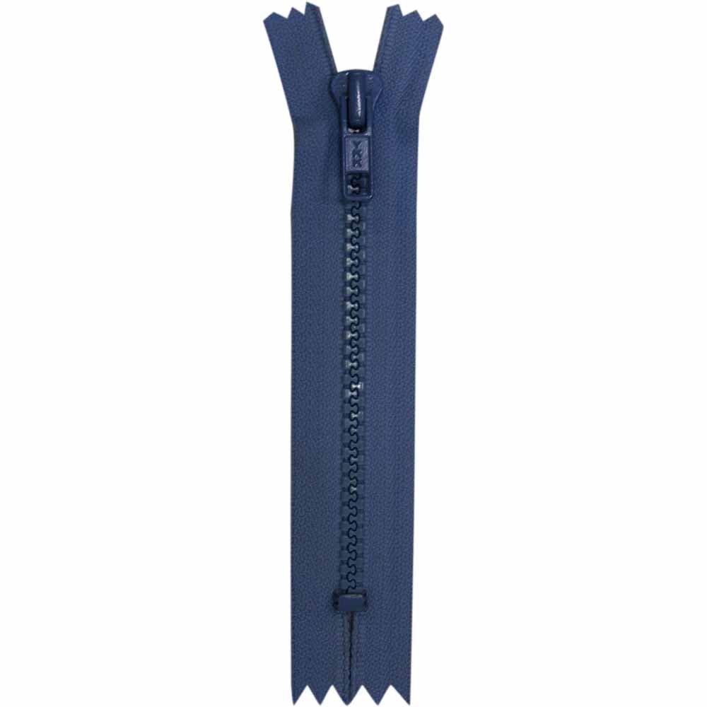 Closed End Royal Blue  Activewear Zipper - 18cm/7