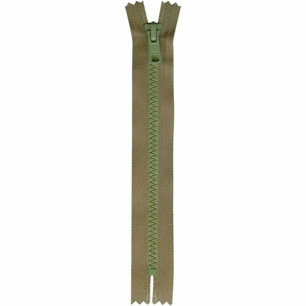 Closed End Kentucky (Army Green) Activewear Zipper - 18cm/7