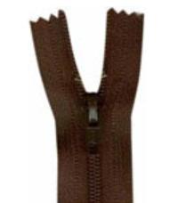 1700- Closed End Zipper 45cm (18) - Sept. Brown