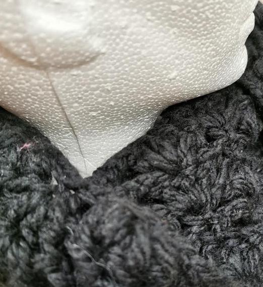 Crochet Cowel - Black