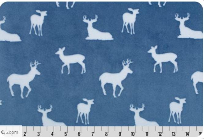Cuddle Deer to Me - Blue