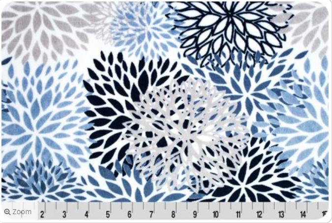 Cuddle Premier Blooms - Blue