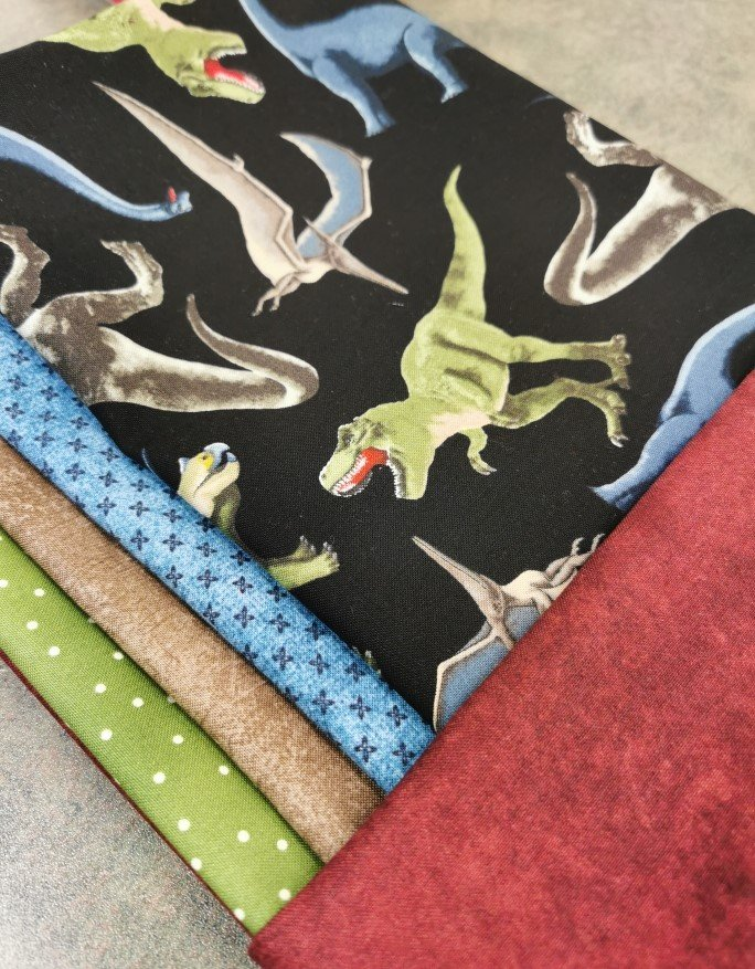 Quick & Easy Square Quilt Kit - Dino World