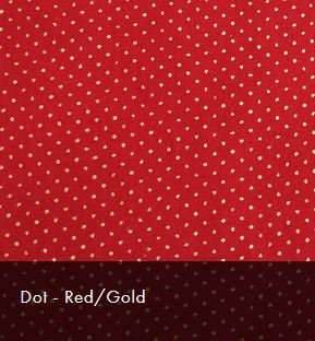 Red/Gold Dot Christmas Sparkle