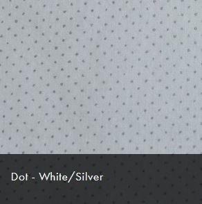 White/Silver Dot Christmas Sparkle