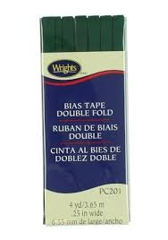 Double Fold Bias Tape Jungle Green 081
