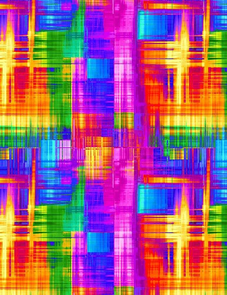 CD8204-Multi Plaid Rainbow (20L)
