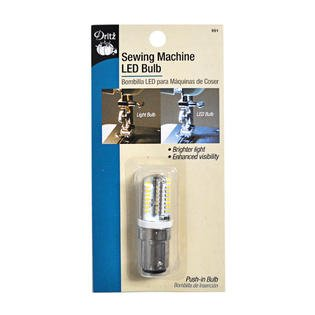 sewing machine light bulb push-in led