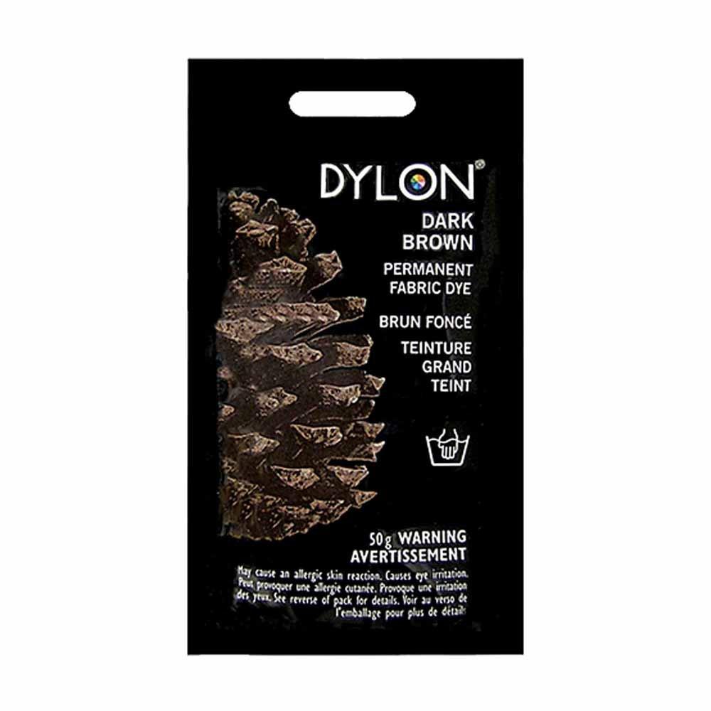 Dylon Fabric Dye Dark Brown/Espresso Brown