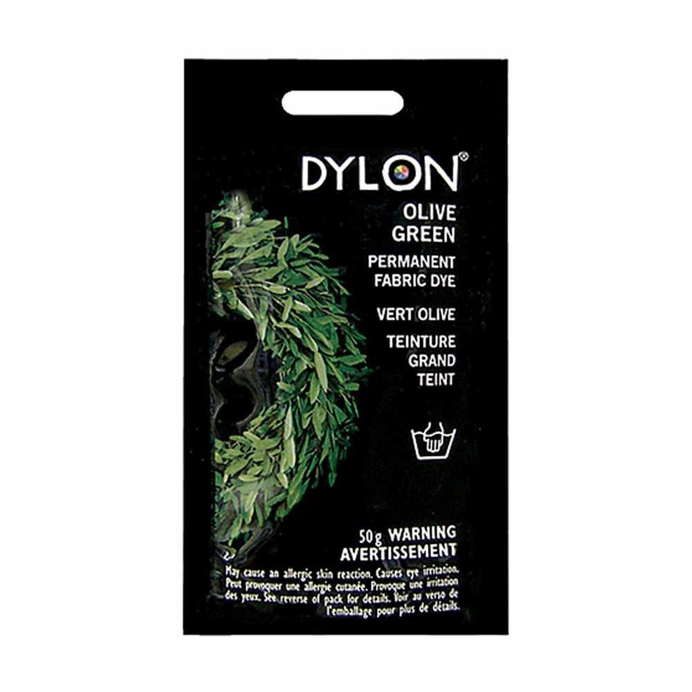 Dylon Fabric Dye Olive Green