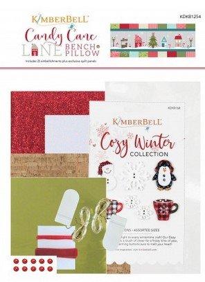 ***PREORDER***  Kimberbell Candy Cane Lane Embellishment kit
