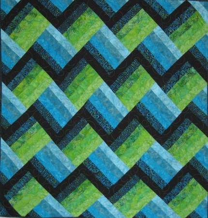 Cut Loose Press - EZ strip Quilt