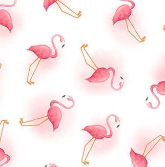 1272-01 White let's Flamingle (21B)