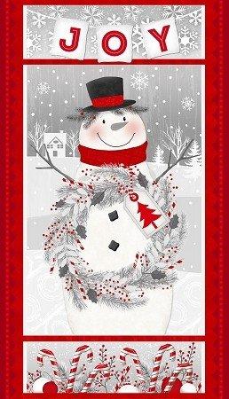 Frosty Friend 2-ply Flannel by Jan Shade Beach