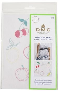Magic Paper Embroidery- Fruit