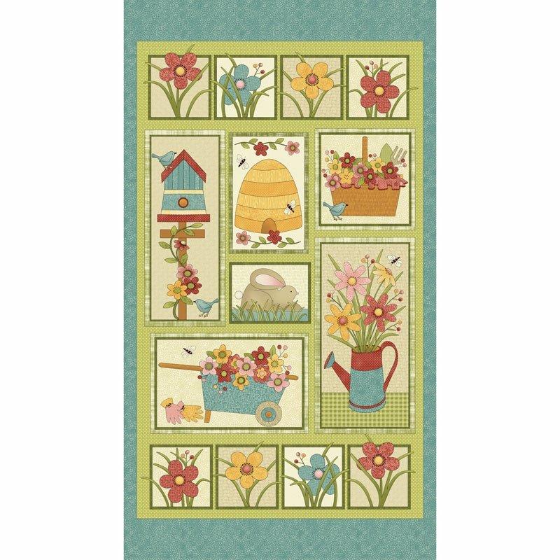 Garden Days Panel #99-10070
