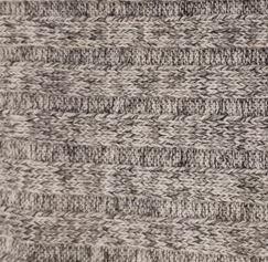 Grey Mix Rib Sweater Knit