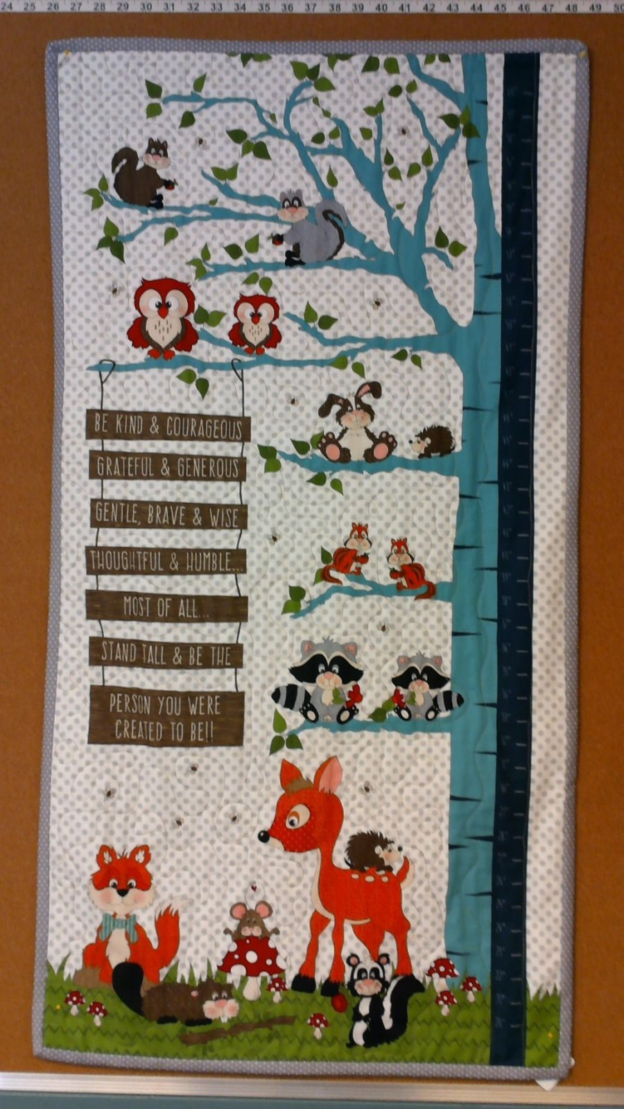 Be Kind & Courageous Growth Chart