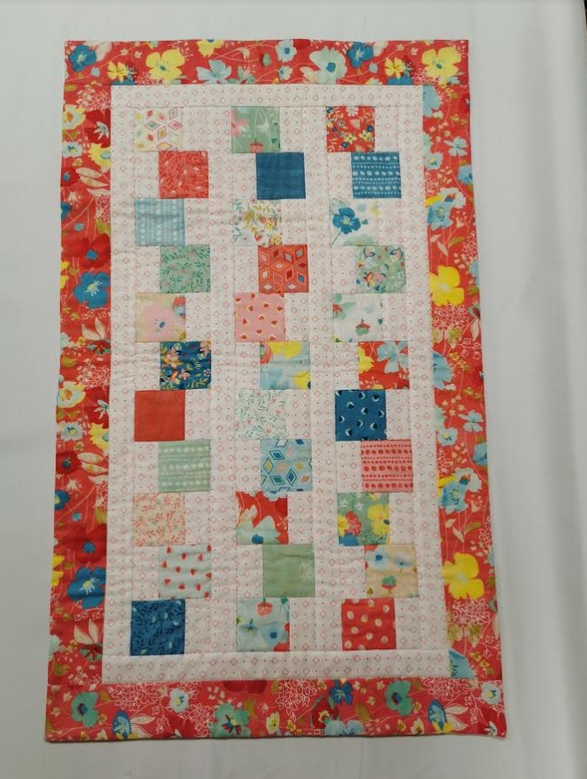 Stacked Charms Tablerunner/Wallhanging- Gypsy Soul