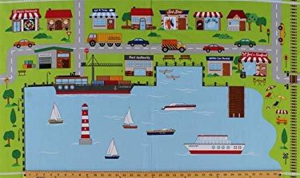 Car roads- City Harbor