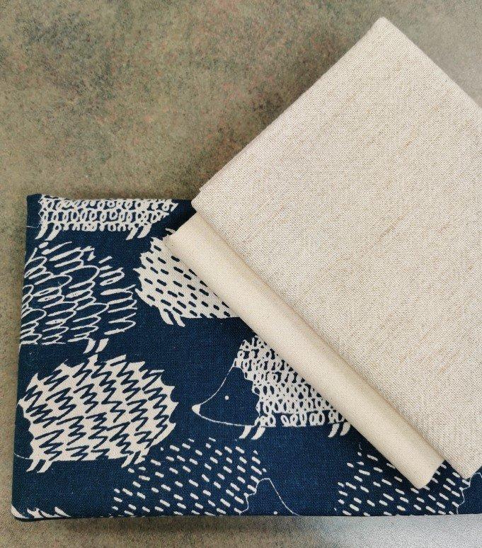 Linen Cross Body Bag Kit