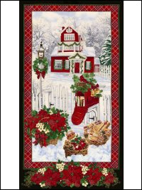 Timless Treasures Quilt Panel