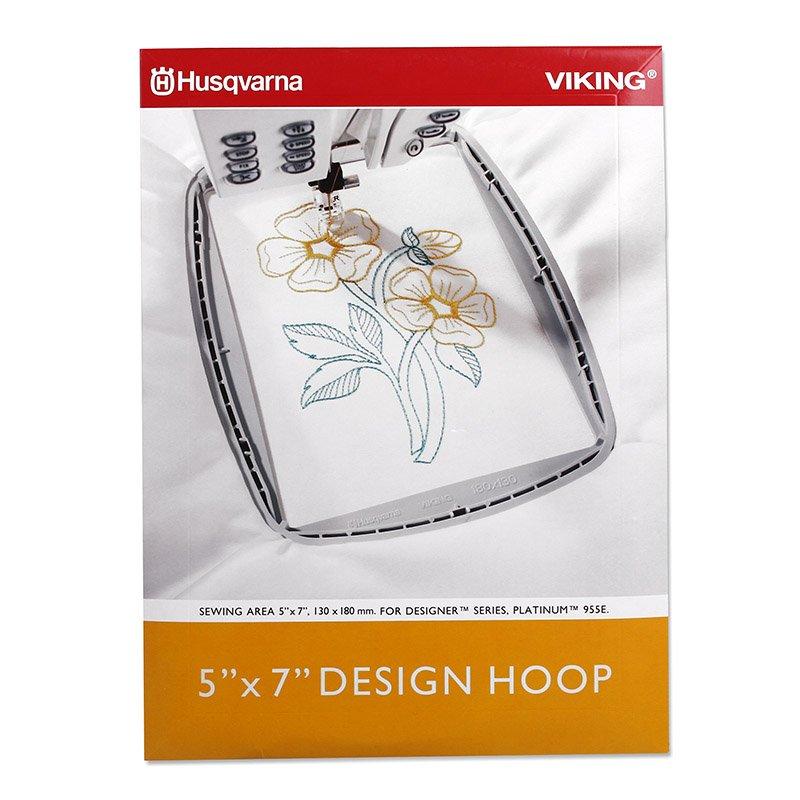 Husqvarna Designer Series Hoop 5x7 (180x130mm)