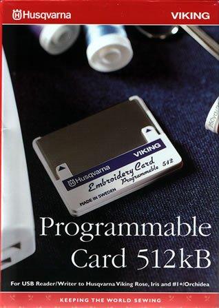 Husqvarna VIKING  Programmable Card
