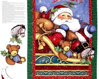 Believe in Santa Quilt Panel