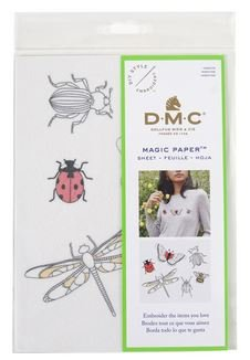 Magic Paper Embroidery- Insects