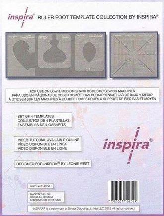 Inspira Ruler Foot Template Set 620145796